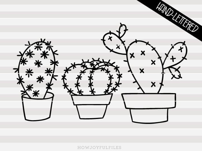 Cactus – SVG file