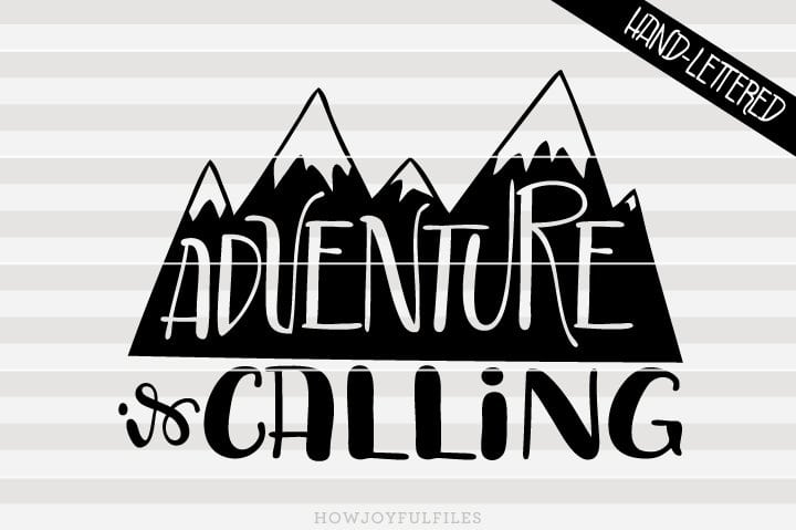 Adventure is calling – SVG file