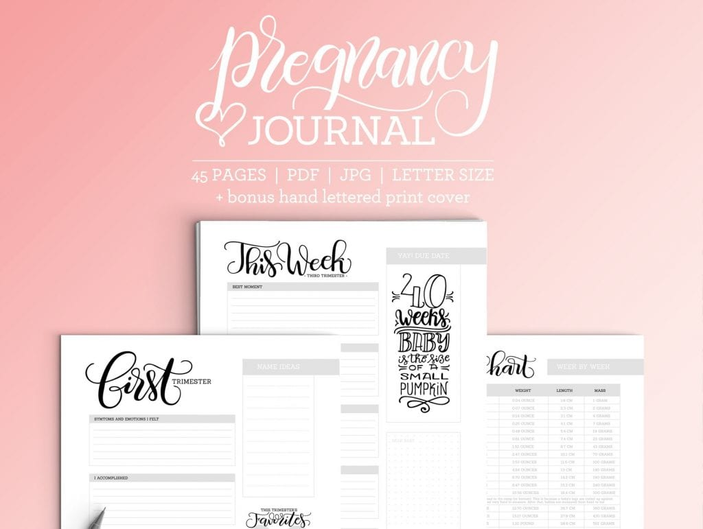 Pregnancy Journal – Planner