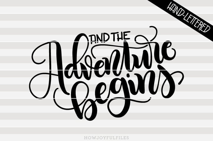 And the adventure begins – SVG file