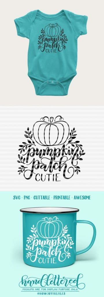 Pumpkin Patch Cutie Svg File Howjoyful Studio