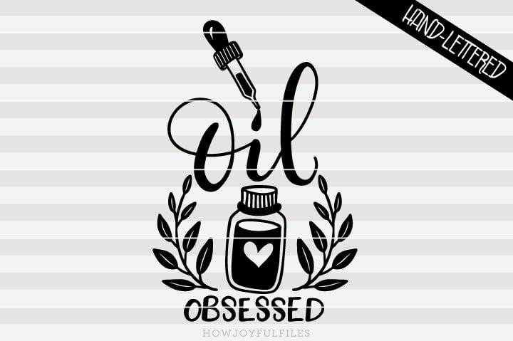 Oil obsessed – SVG file