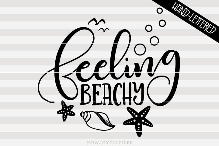 Feeling beachy – SVG File