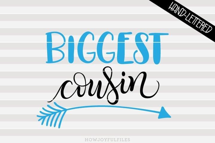 Biggest cousin arrow – SVG file