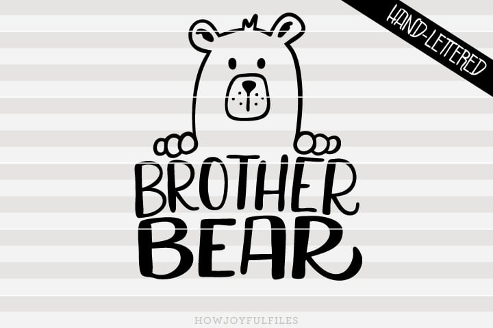 Brother bear – SVG file