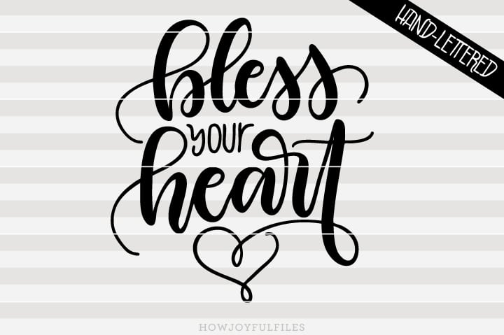 Bless your heart – SVG file