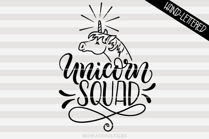 Unicorn squad – SVG file