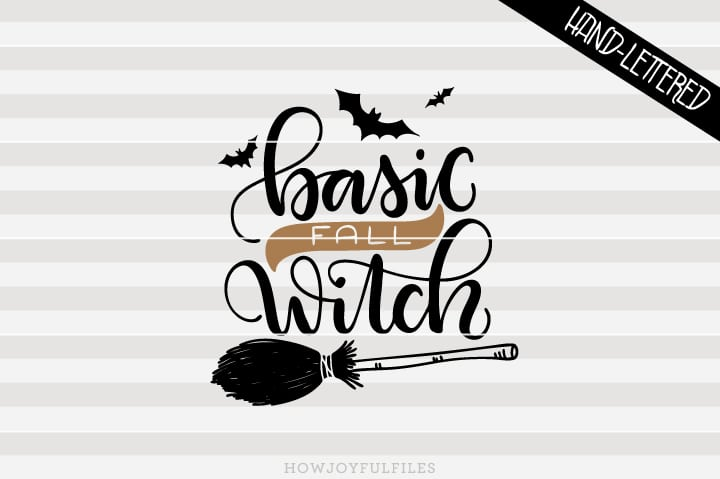 Basic Fall Witch – Halloween – SVG file