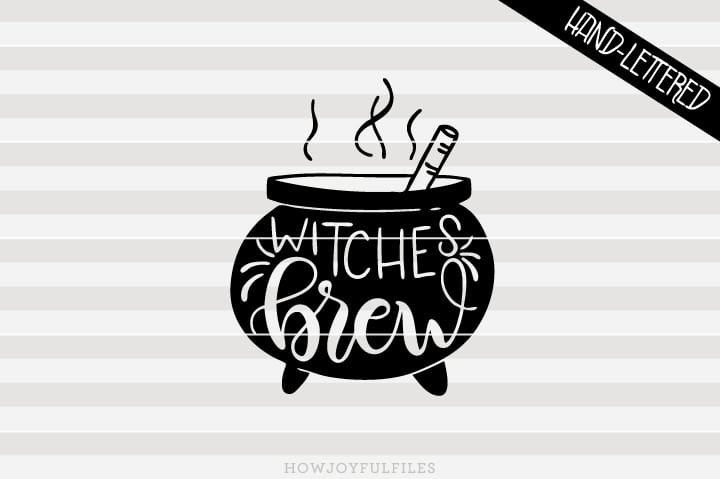 Witches brew – Halloween – SVG file
