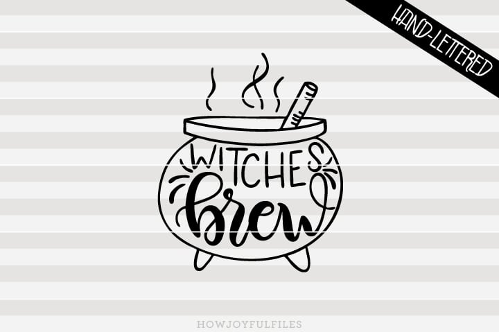 Witches brew – Outlined – Halloween – SVG file