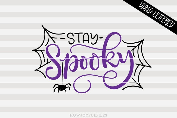 Stay Spooky – Halloween – First Halloween – SVG file