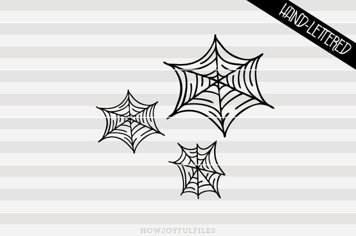 Spiderwebs – Halloween – SVG file