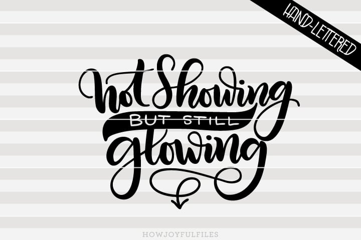Not showing but still glowing – SVG file