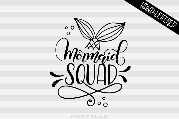 Mermaid squad – SVG file