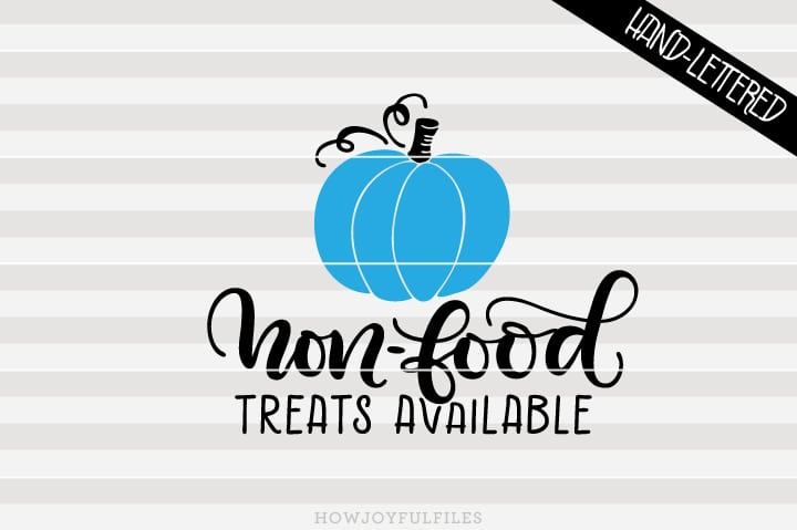 Non-food treats available – Halloween – SVG file