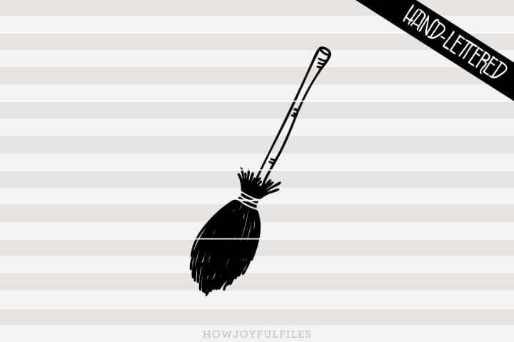 Witch broom – Halloween – SVG file
