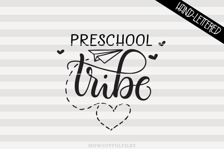 Preschool Tribe – School – Teacher – SVG File