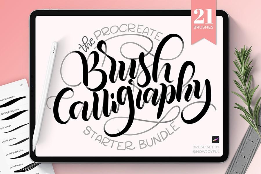 brush calligraphy brushes for ipad