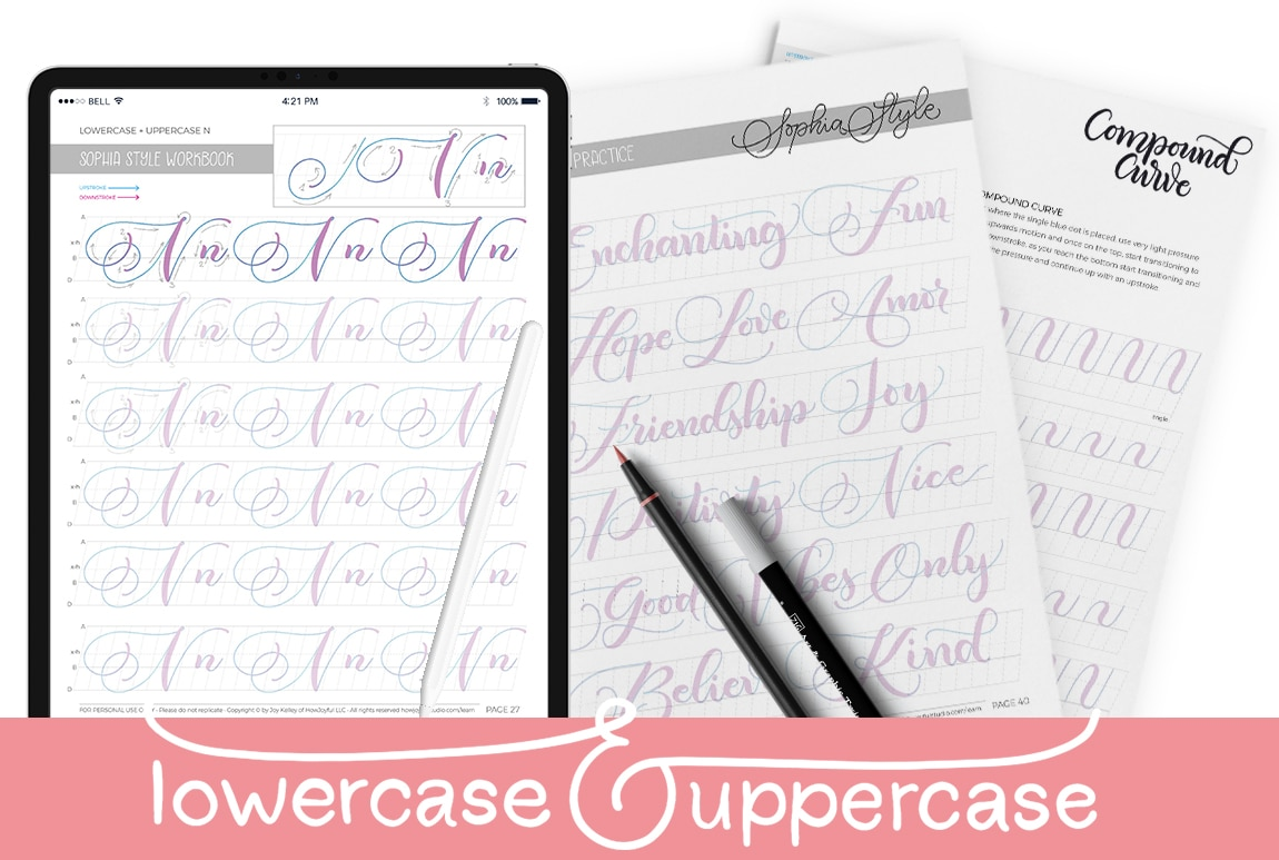 lowercase and uppercase