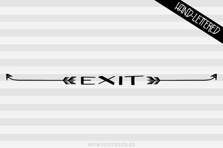 exit sign replacement